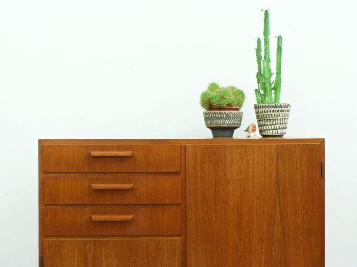 Teak Cupboard | Made In Germany | MID CENTURY Furniture, Art U0026 Accessories  :: We Ship Worldwide! Www.goodoldvintage.de | : Good Old Vintage : |  Pinterest ...