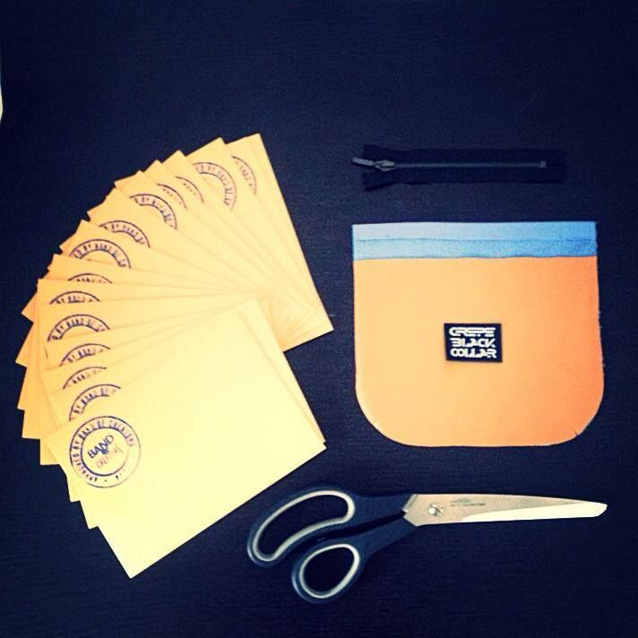 Fall collection preview #bandofcreators #artmark #fallcollection #fw15 #mint #teal #scissors #cutout #gifts #preview #romaniandesign #romaniandesigner #romanianbrand #atelier #cbc #crepeblackcollar #freshdesign #vibrantcolor #zipper #evnelope #invitation #scissors #makeupbag #gift
