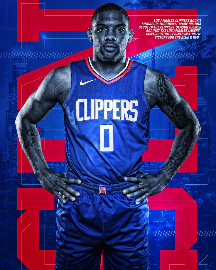 NBA Rookie Series: [Los Angeles Clippers] On Behance