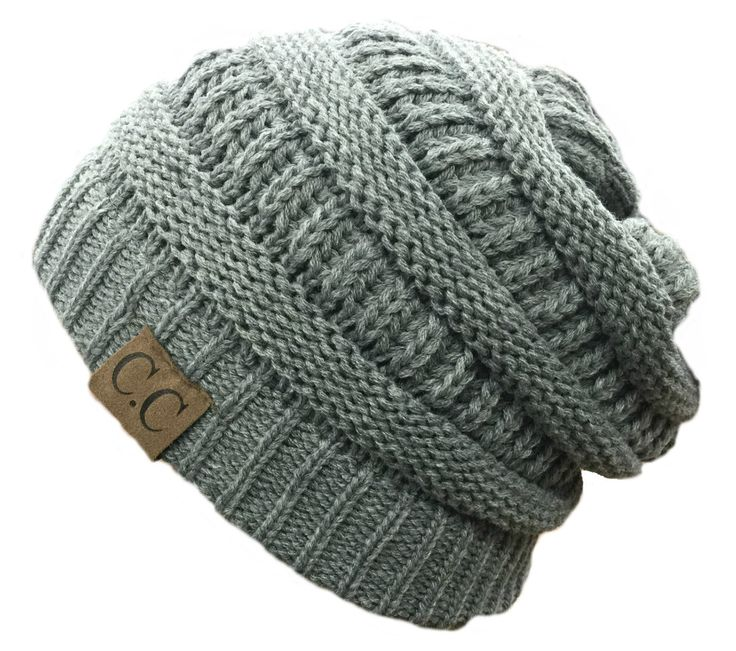 Made with quality and a stylish simple design, these beanies will keep you warm and super cute everyday! Original Brand and Superior Quality - Style: Slouch Cable Knit Quality Beanie with Tags - Marte