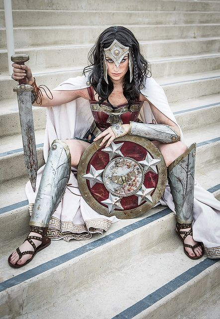 Wonder Woman, a Greek style armor. I love this and reminds me of Gal Gadott's Wonder Woman suit for Batman V Superman Dawn of Justice coming March 25th 2016.