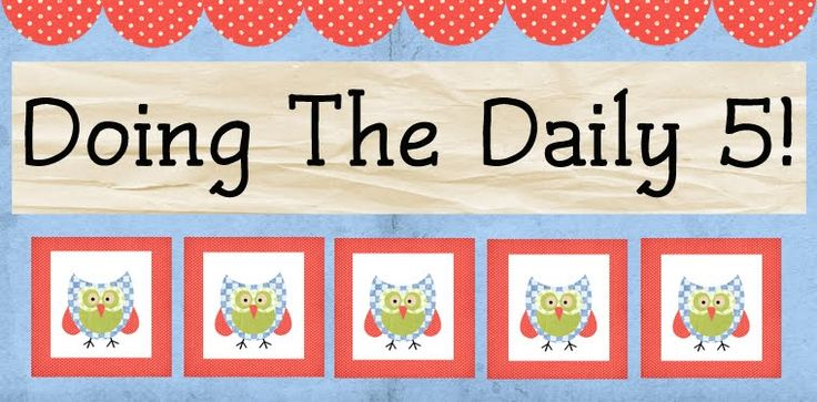 A great blog written by a teacher implementing the Daily 5.