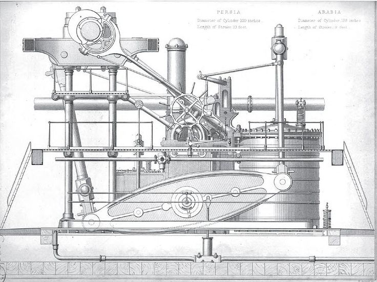 early steam engine diagram steam yacht diagram