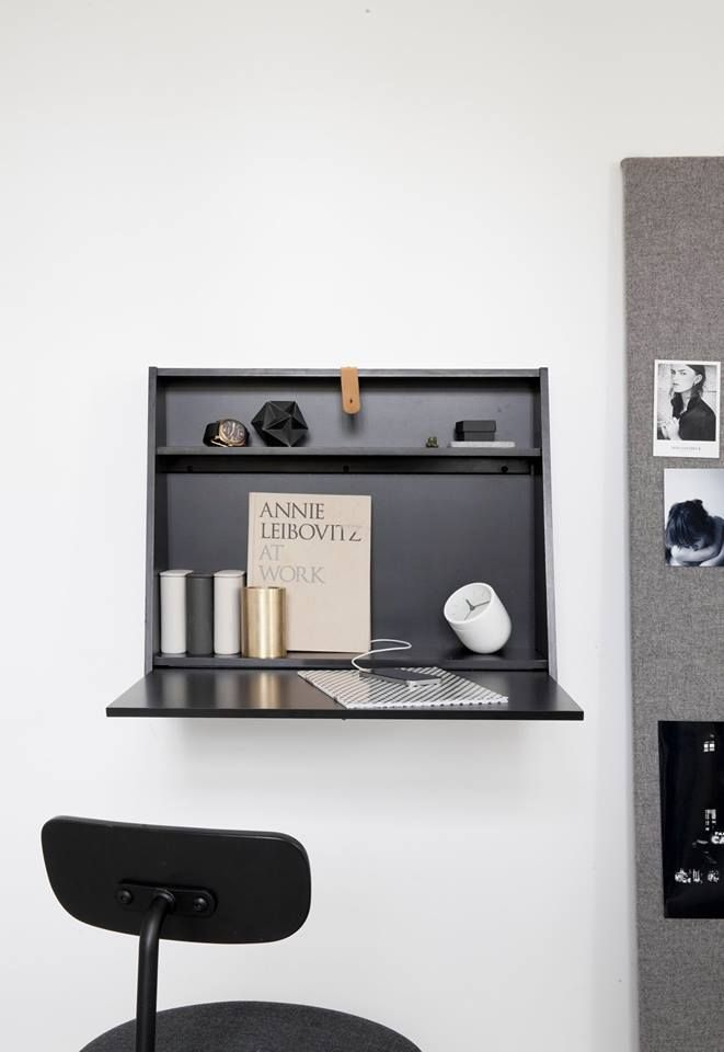 that nordic feeling // Wall Desk by Norm Architects