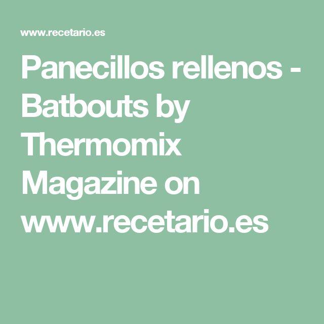Panecillos rellenos - Batbouts by Thermomix Magazine on www.recetario.es