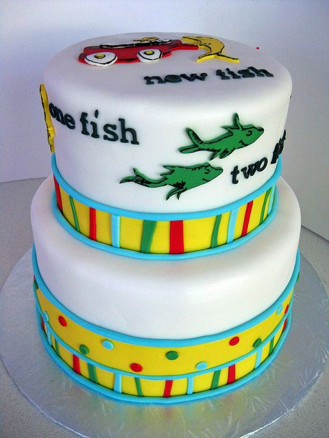 dr. seuss cake | dr seuss baby shower cake dr seuss baby shower cake bottom tier ...