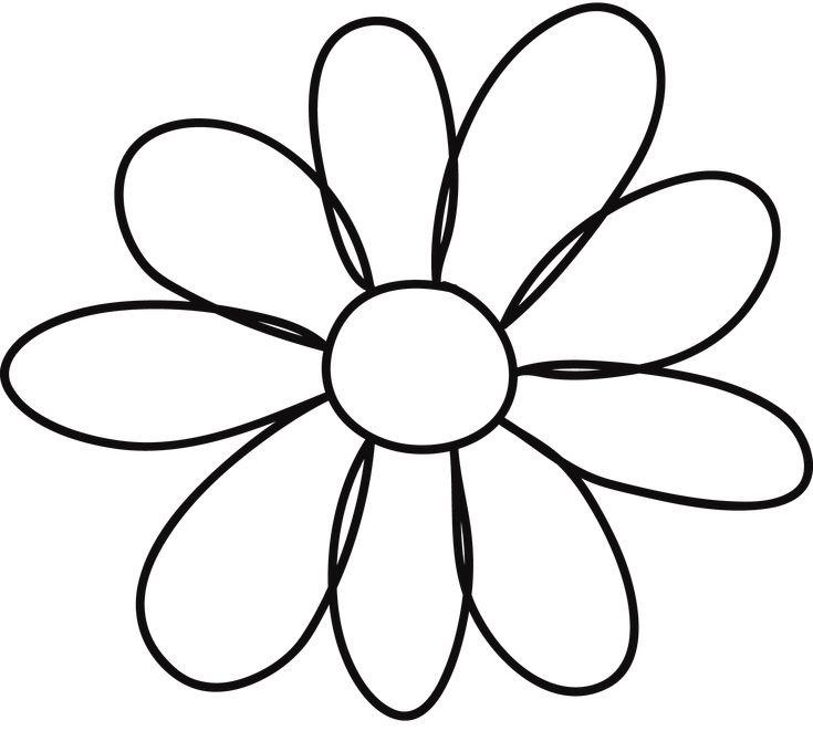 flower template 5 petals - 10 petal flower template clipart best clipart best