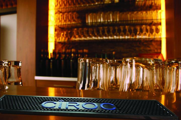 Bar Mat in gomma pvc personalizzato