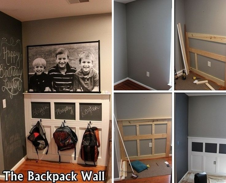 Keeping the school stuff together makes the stress of mornings less for everyone in the family. If you're looking for storage system for your kid's backpacks, then this DIY backpack stationmight interestyou! This backpack wall is great for those who have limited space in the entryway. Everything is simply hanged and organized while keeping your floor space free. Jacketsand umbrellas could be placed here, too. What other things would your kids need before heading out for school? This…
