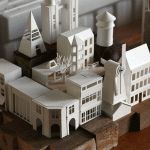 Artist Charles Young Completes Work on Daily Paper Model Project After Designing 365 Structures