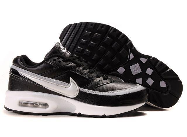 ... Nike Air Max 97 Womens Nike Air Max Classic BW Black White Leather Womens  Nike Air ... 02de5972b