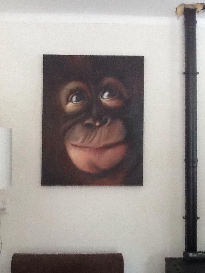 Oil painting....artist Sonja Zijlstra... Sold