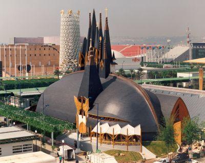 PABELLON DE LA EXPO-92 EN SEVILLA