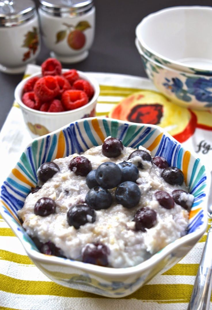 Pure and Simple Nourishment : Coconut Blueberry Paleo Oatmeal (AIP, Gluten Free, GAPS, SCD, Whole 30)