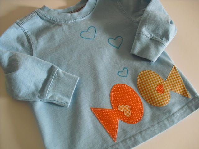 a pretty cool life.: Something fishy's going on around here...Valentine shirts for boys