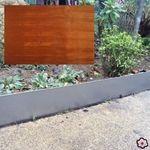 Bordure de pelouse en Corten 1 m x 13 cm