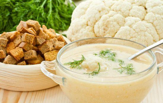 Рецепты супа-пюре из цветной капусты, секреты выбора ингредиентов и