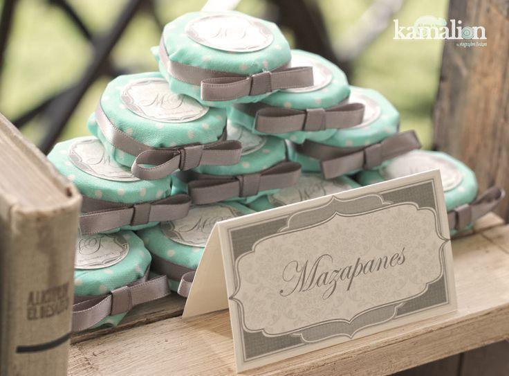 www.kamalion.com.mx - Mesa de Dulces / Candy Bar / Wedding / Boda / Rosa & Menta / Pink & Mint / Vintage / Rustic Decor.: