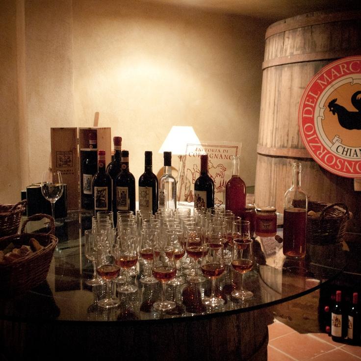 Tasting of our Vinsanto www.tenutacorsignano.it