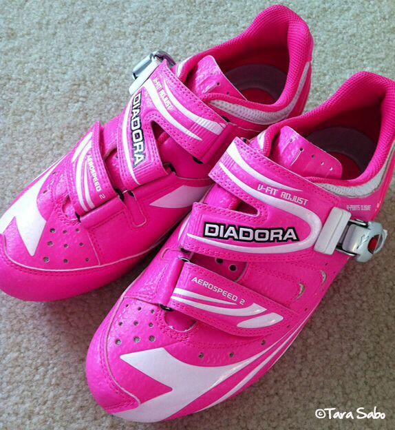 pink diadora cycling shoes bmx for