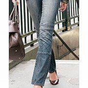 Vivien Caron 78 niebieskie dżinsy rurki używane
