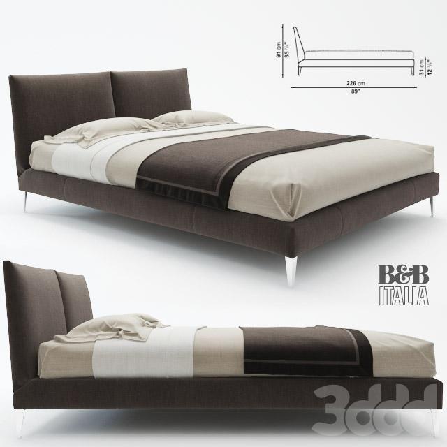 кровать Selene Bed Maxalto B Amp B Italia Beds Want