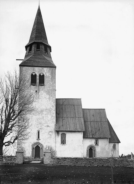 Anga Church, Gotland, Sweden by Swedish National Heritage Board,