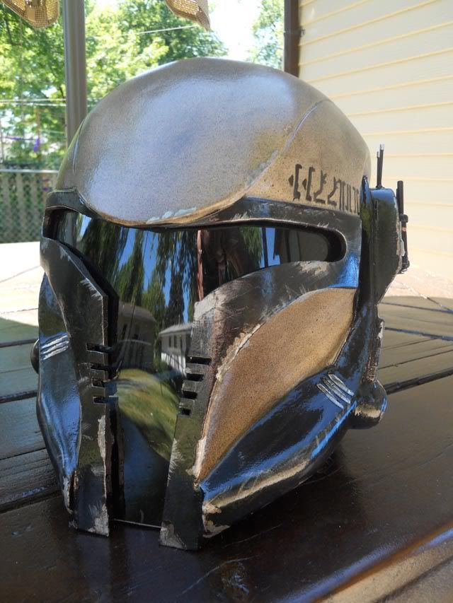 Mandalorian Supercommando helmet