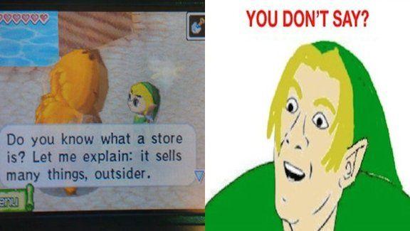 The Legend of Zelda memes: The best Zelda jokes and images we've seen | GamesRadar  I laughed so much harder than I should have