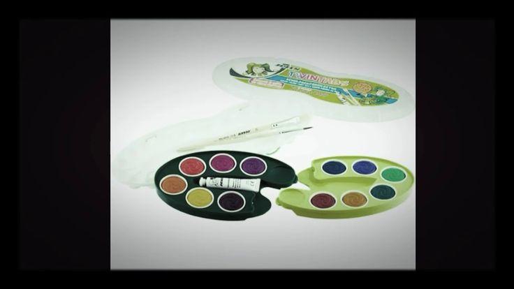 Vízfesték - Vízfesték készlet - Akvarell festék - Watercolour paint - De...