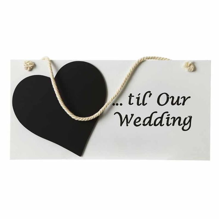 Wedding countdown plaque, chalkboard, Wedding Plaque, Enganment Gift by PerfectParcels1 on Etsy https://www.etsy.com/listing/258626090/wedding-countdown-plaque-chalkboard
