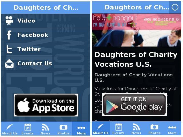 ANUNCIO…UN APP PARA LAS VOCACIONES DE HIJAS DE LA CARIDAD @dofcharity http://filles-de-la-charite.org/es/announcing-an-app-for-daughters-of-charity-vocations/
