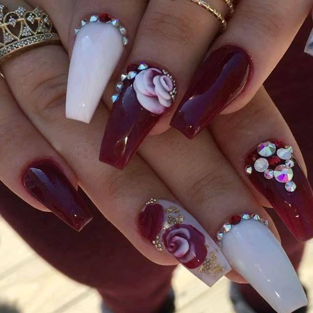 Mejores 1170 imágenes de ~pretty nails~ en Pinterest   Uñas bonitas ...