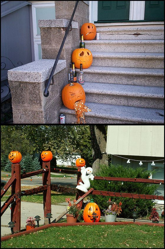Outdoor halloween decorating house decorating ideas