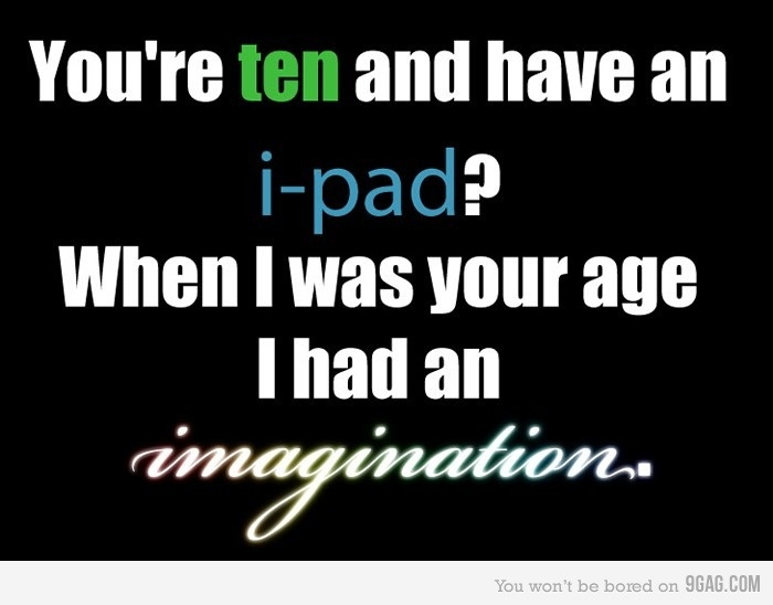 ah, the days when imagination was put to use.