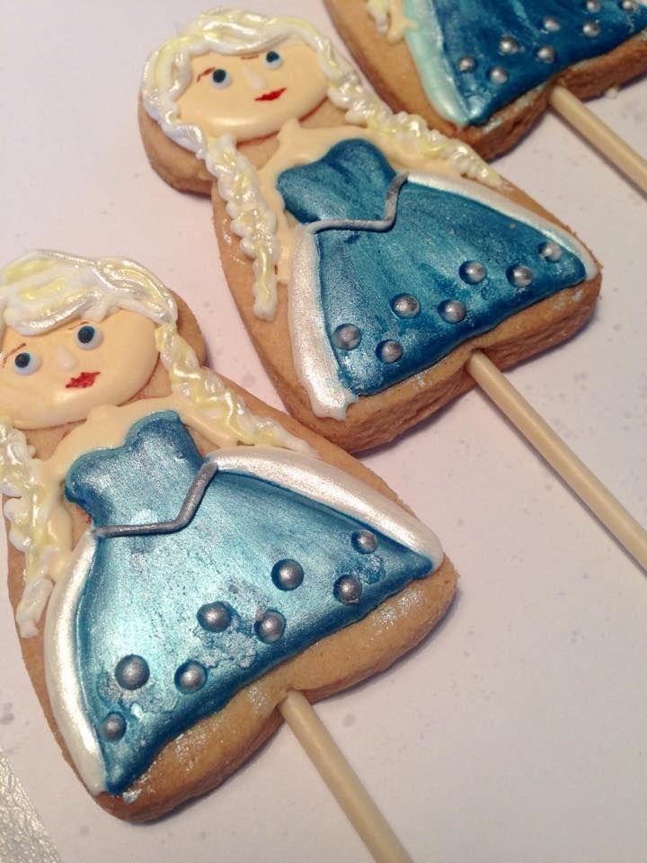 frozen - Elsa cookies