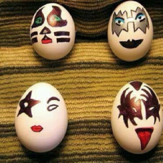 My Kind of Easter Eggs: Holiday, Kiss Easter, Kisseggs, Funny, Kiss Eggs, Rock, Easter Eggs, Happy Easter