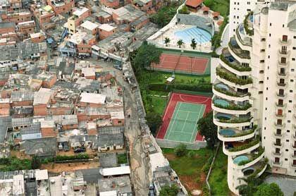 Sao Paulo contrasts