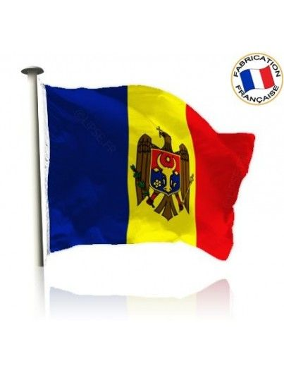 Drapeau Moldavie Made In France by Manufêtes