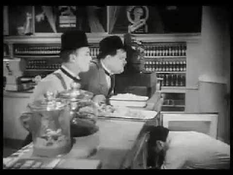 Laurel and Hardy Dancing Masters 1943 - YouTube