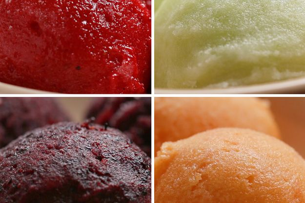 You Won't Believe That This Sorbet Only Has 2 Ingredients