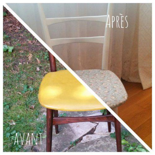 Customiser une chaise vintage