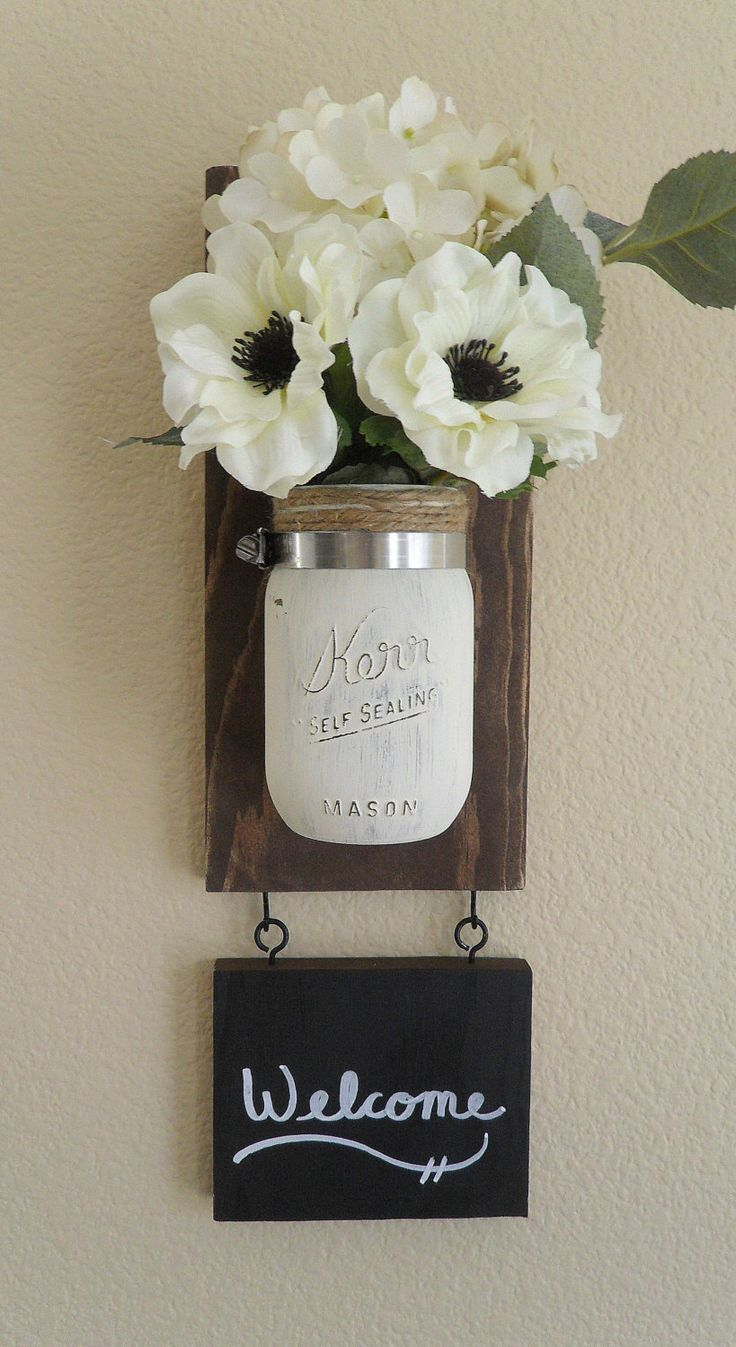 Mason Jar Wall Art best 20+ hanging mason jars ideas on pinterest | rustic room