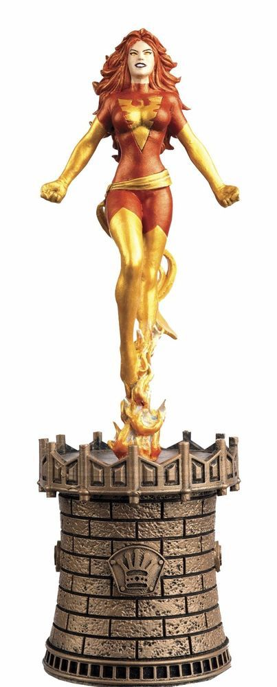 Marvel Chess Collection #54 Dark Phoenix Black Queen Eaglemoss #MarvelComics