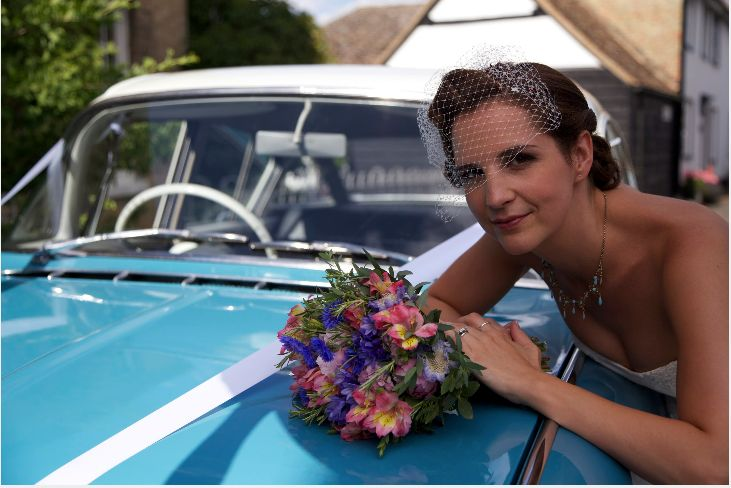 One of our 50's inspired weddings Hair & makeup WHAM Artists http://weddinghairandmakeupartists.com/