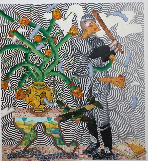 Studio Visit: Artist Hiro Kurata #art #feedly  via Boooooom!