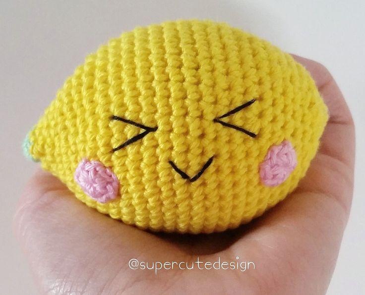 Lemon By Jennifer - Free Crochet Pattern - (supercutedesign) ☂ᙓᖇᗴᔕᗩ ᖇᙓᔕ☂ᙓᘐᘎᓮ http://www.pinterest.com/teretegui