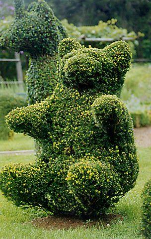 Silas Scarborough Photo Gallery: Topiary - Green Animals Topiary Garden, Rhode Island