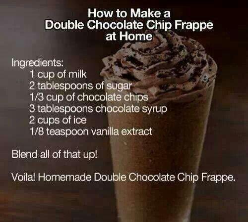 Homemade Starbucks ;)