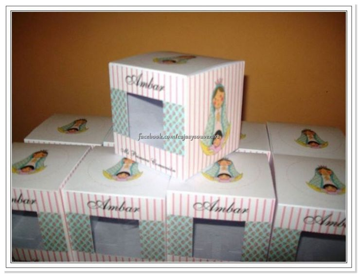 Cajas Para Cupcakes para comunion